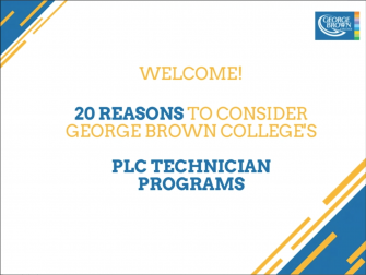 20 Best Reasons to Choose GBC's PLC Certificate Programs