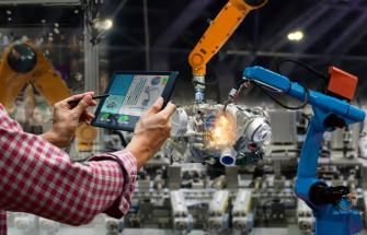 smart factories integrate plcs, automation and robotics